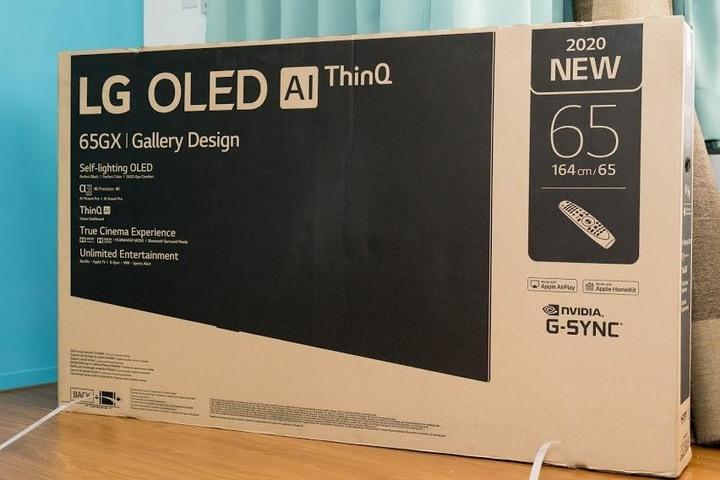 唯一一台4個HDMI 2.1的LG OLED GX65 - 4