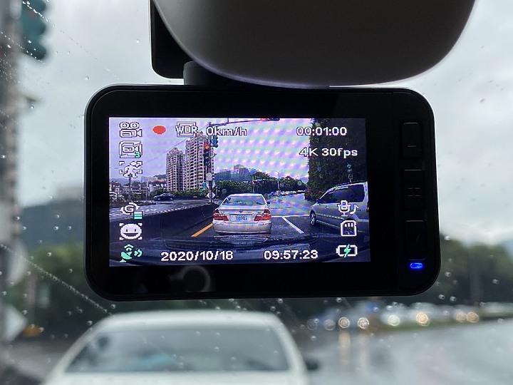 DOD UHD10 4K行車記錄器 關鍵證據 日夜都掌握