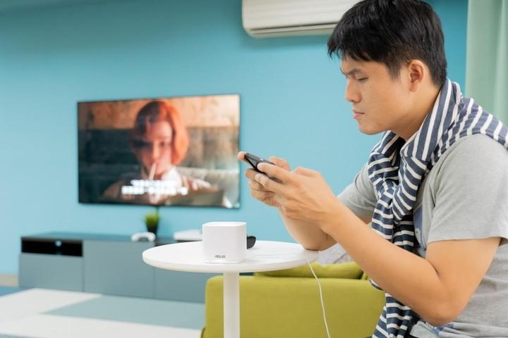 MESH 網狀網路 WiFi 6 入門方案 ZenWiFi AX Mini 無線基地台開箱實測