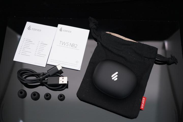 EDIFIER TWS NB2 真無線主動降噪耳機/給你有型降噪好聲音/專屬App