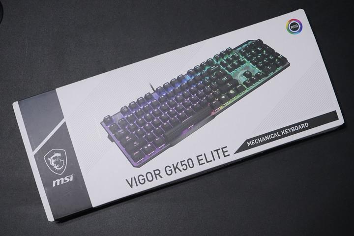 MSI微星Vigor GK50 Elite LL TC電競鍵盤