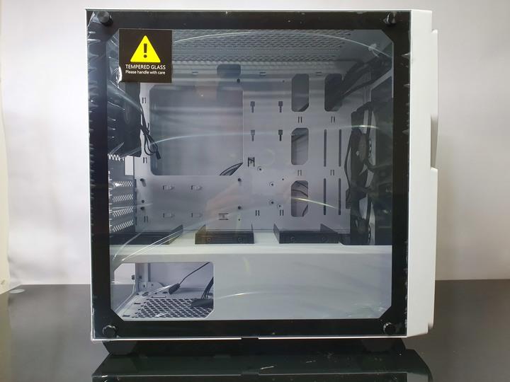 獨特前衛面板設計,Enermax Marbleshell MS20 冰曜石機殼開箱試用