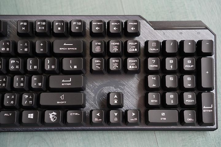 微星VIGOR GK50 Elite電競鍵盤 凱華藍軸 清晰反饋每鍵都精準1036