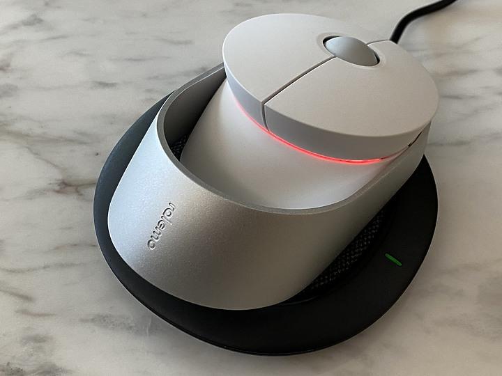 ralemo Air 1無線充電滑鼠 輕巧可切換DPI 藍牙&2.4GHz無線好方便5536