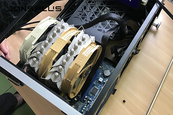 ITX直上360冷排、巨型塔扇我都要,JONSPLUS i100 PRO 三段變身6474