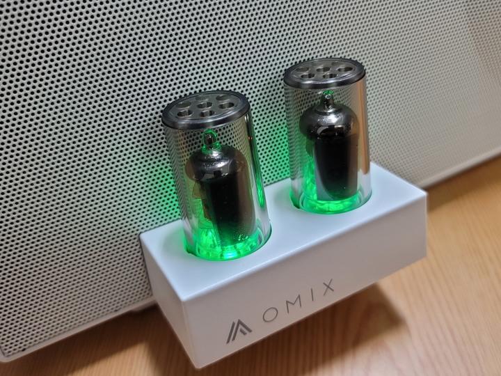 OMIX VAC-MX 全音域環繞雙真空管重低音喇叭/雙管齊下 增強體驗