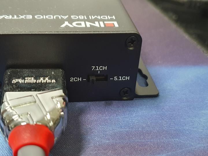 LINDY 林帝 38361 HDMI2.0 4K/60Hz 18G 影音分離轉換器 開箱試用