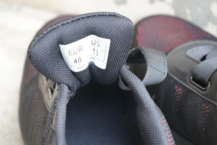 NiceLife最潮鋼鐵鞋:CNS20345國家認證|鋼鐵紅黑免鞋帶安全鞋|有型強悍 - 7