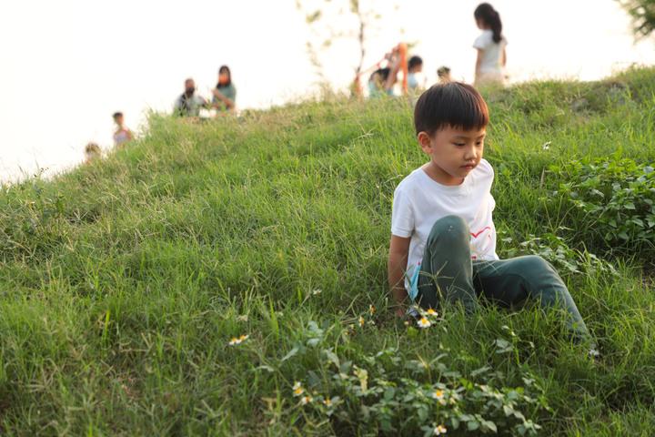 S步道 彰化 溪湖中央公園步道 新穎開幕親子最愛 溪湖鎮