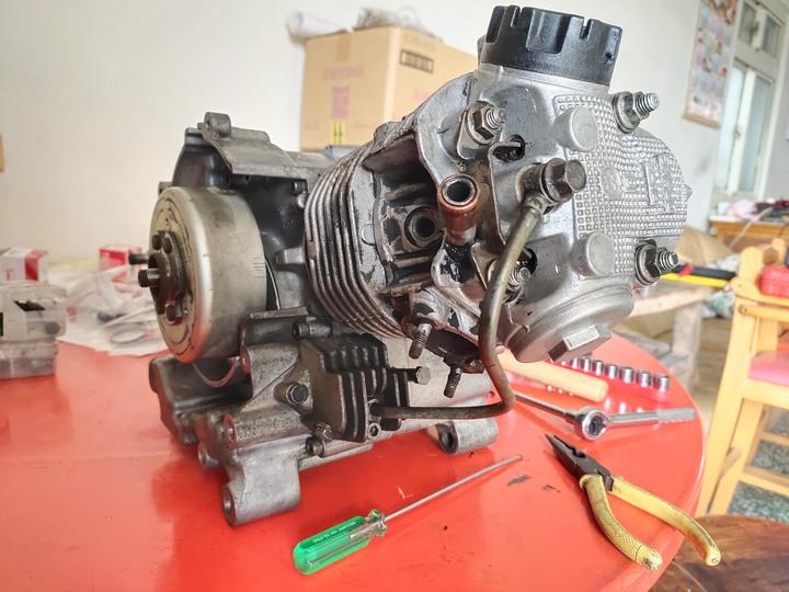 張先生委託-三代SV MAX125(車玩125)翻新紀錄(2021/04)3536