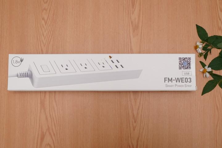 FAMMIX FM-WE03菲米斯 6插4埠USB Wi-Fi智能延長線 充電願望一次滿足