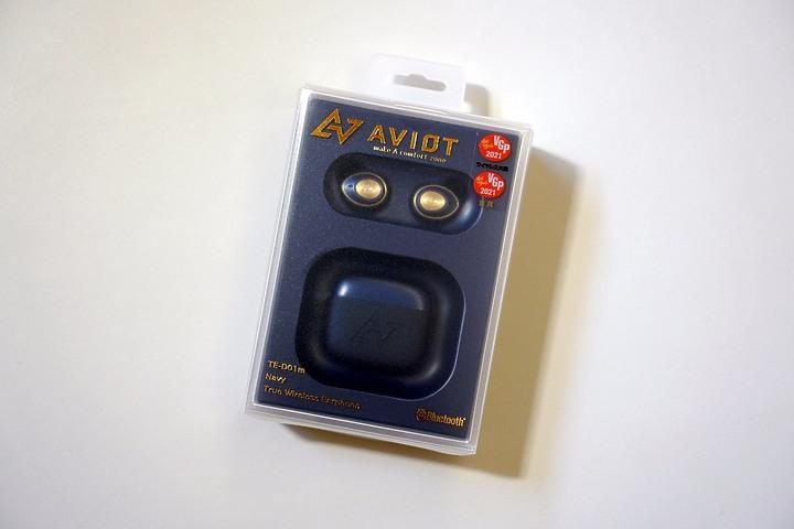 AVIOT TE-D01m|首款主動降躁真無線耳機 藍牙5.2 支援aptX Adaptive