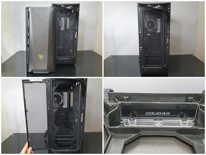 COUGAR 美洲獅 MX660 Iron RGB 中塔機殼開箱試用