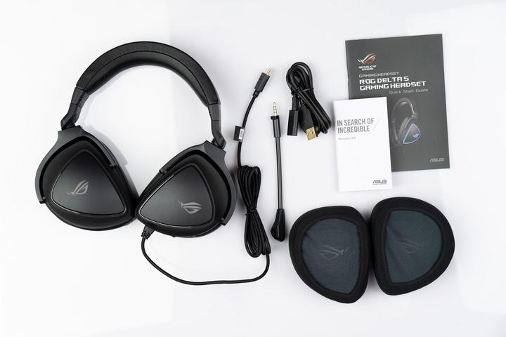 Hi-Res認證的電競耳機ROG Delta S