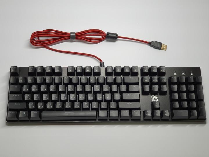 POWZAN CK650 Stardust RGB光學機械遊戲鍵盤 靜音紅軸開箱試用