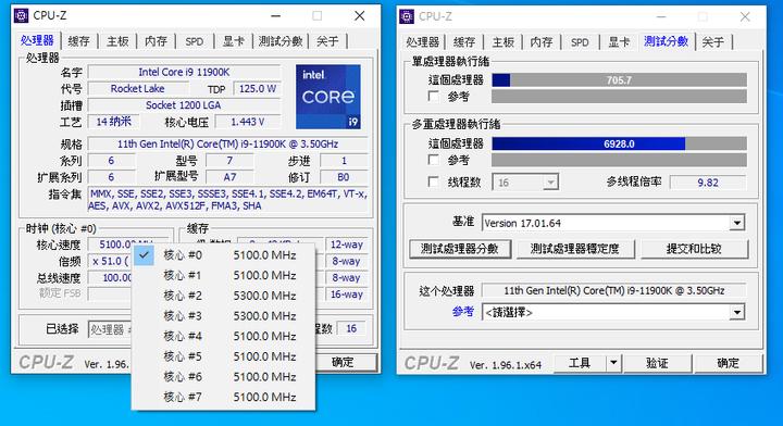 14nm的最後榮耀,強勢旗艦效能 Intel Core i9-11900K 開箱試用