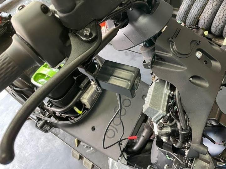 機車法官Q-7 Gogoro S3安裝過程&錄影畫面分享