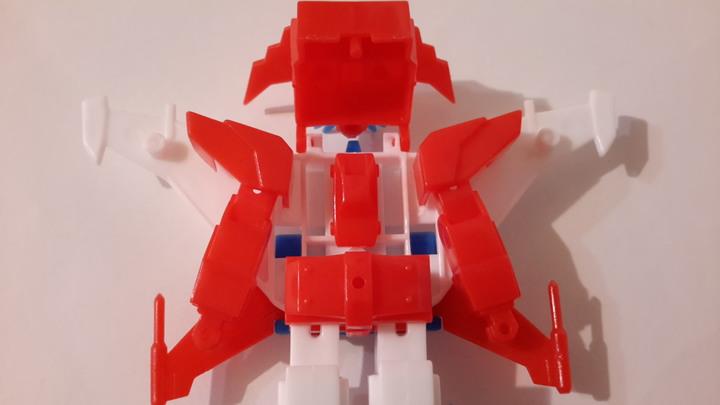 【Kabaya食玩】1990年代勇者傳說-雷霆達鋼號食玩模型