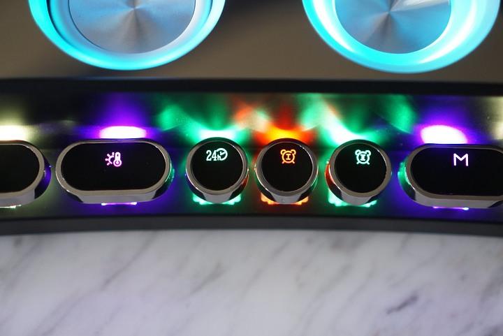 94monster全音域曲面電競機械藍牙音箱|RGB與機械鍵軸 功能多元音質佳