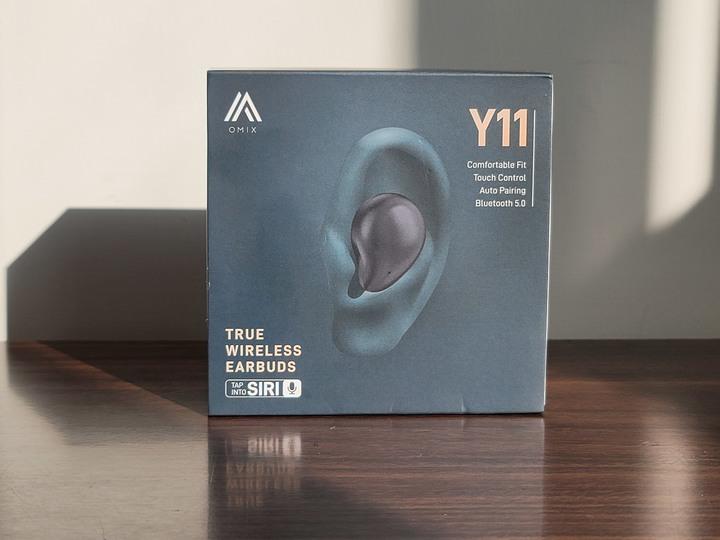 OMIX Y11真無線觸控藍牙耳機 : 水滴美型/入耳舒適/音質細膩