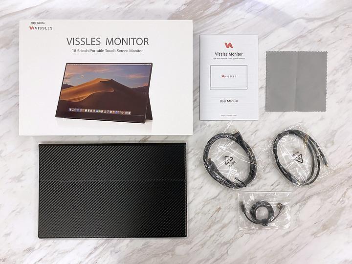 Vissles-M 15.6吋攜帶型觸控顯示器 第二螢幕工作娛樂都方便2716
