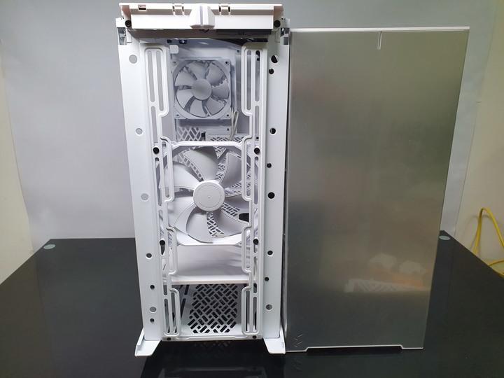 Fractal Design Define 7 Compact white 靜音版機殼開箱試用9966