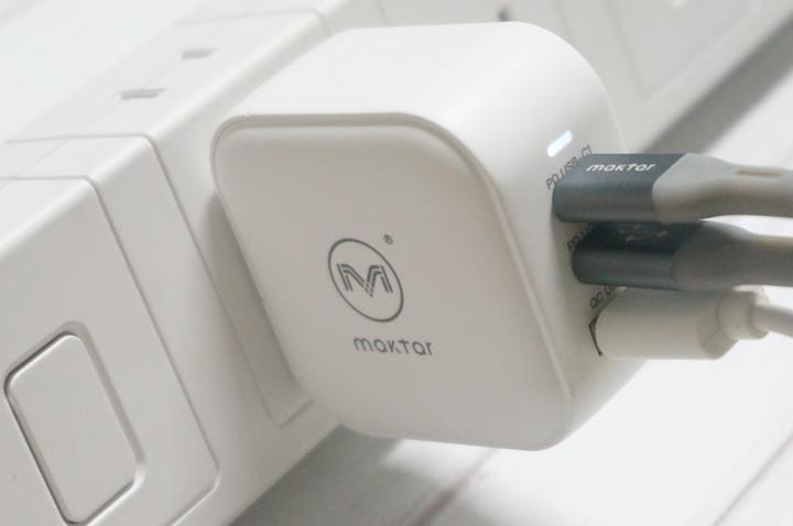 Maktar 66W GaN口袋快充 : 3孔快充手機平板筆電充電一次滿足!!9439