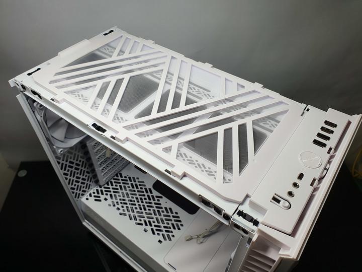Fractal Design Define 7 Compact white 靜音版機殼開箱試用8421