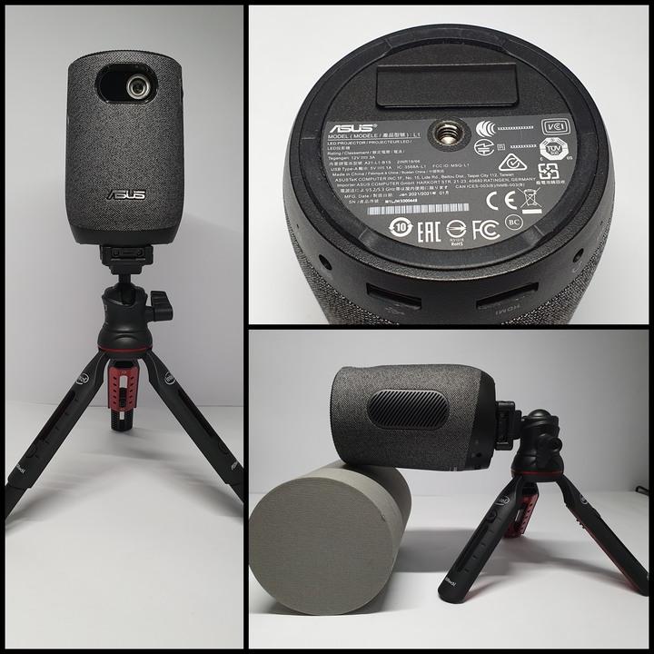 居家美學新主張,ASUS ZenBeam Latte L1無線藍牙行動投影機開箱8173