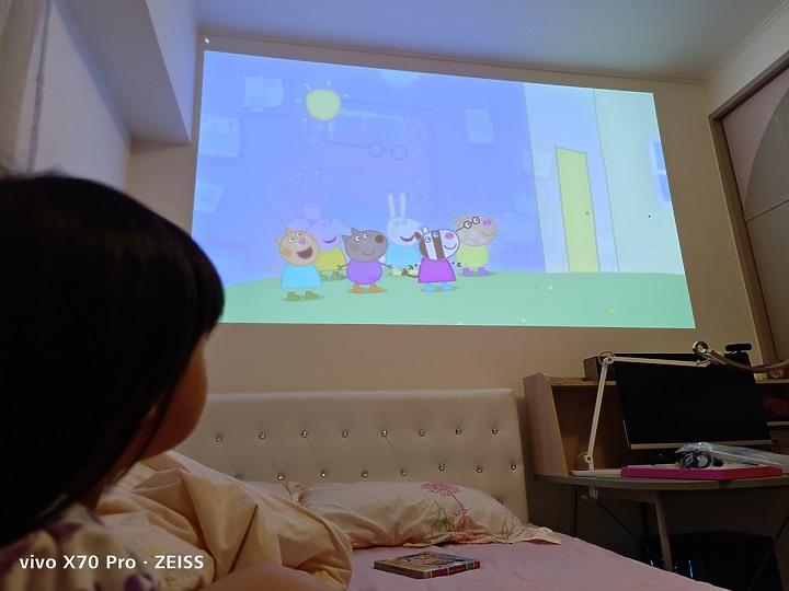 ASUS ZenBeam Latte L1無線藍芽行動投影機|珍惜你的親子時光 - 21