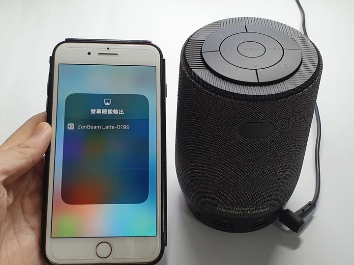 居家美學新主張,ASUS ZenBeam Latte L1無線藍牙行動投影機開箱8942