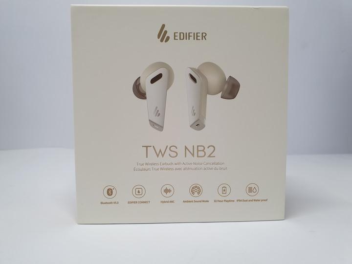宛若寶石般的精緻外觀,漫步者EDIFIER TWS NB2 真無線耳機白色版開箱試用