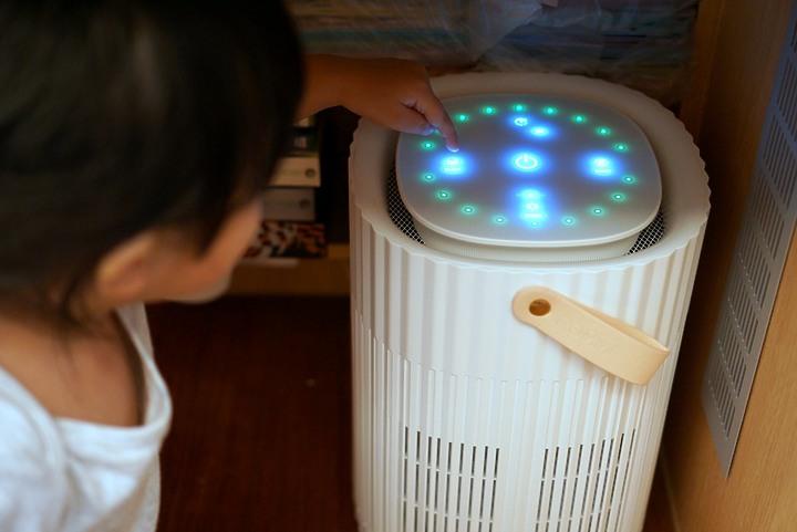 Roommi Baby's Breath |大坪數適用的漂亮空氣清淨機